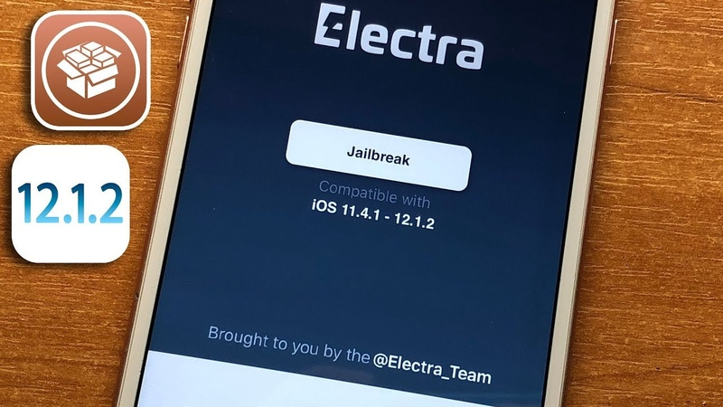 ElectraLized 12 JB Tool New 2019 - iOS 12, iOS 12.1.1 - 12.1.2 and iOS 12.1.3 beta!