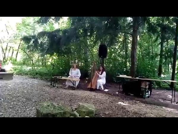 Scottish jig Atholl Highlanders | Dragon Fly celtic harp, hammered dulcimer