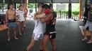 Тайский Бокс Скручивание с подъемом Dump
