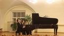 Ф Лист - Концерт для фортепиано с оркестром №2 ля мажор (Исп. А. Шаповалов и Г. Сандовская)
