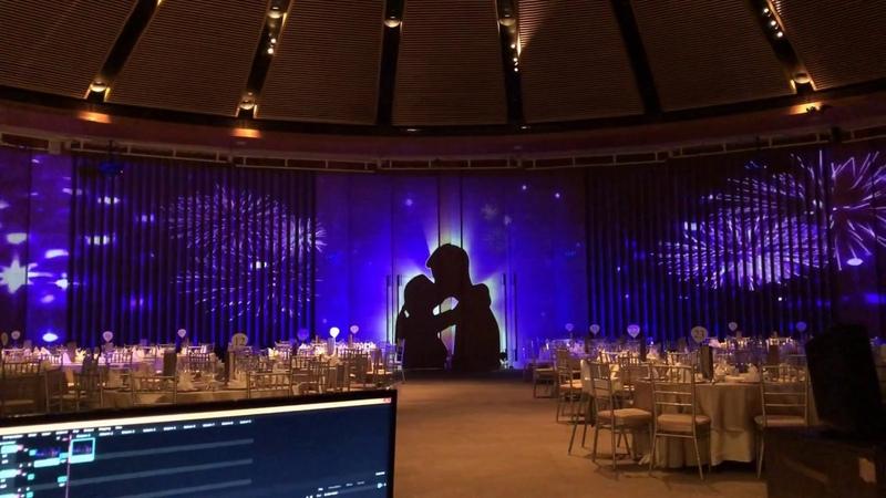 Ooffle Design Events 3D Landmark Mapping Video Capella Luxury Wedding