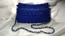 Tas macrame Biru buat Main - Having Fun Blue Bag Macrame