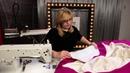 Как грамотно сделать упаковку низа Зимняя куртка простого кроя Шанель на синтепоне Часть 8