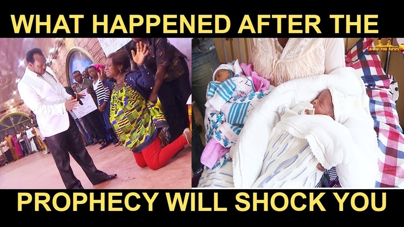 MUST WATCH SHOCKING PROPHECY OF TWIN BABIES