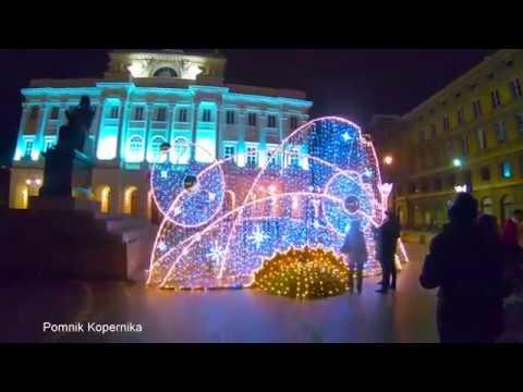 Warszawska iluminacja świąteczna/Warsaw Christmas illumination (2018/Poland/Warsaw)