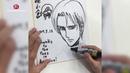 Watch Hajime Isayama draw Levi from Attack on Titan 2017