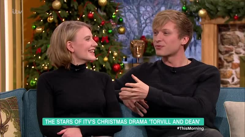 The Stars of ITVs Christmas Drama Torvill and Dean ¦ This Morning