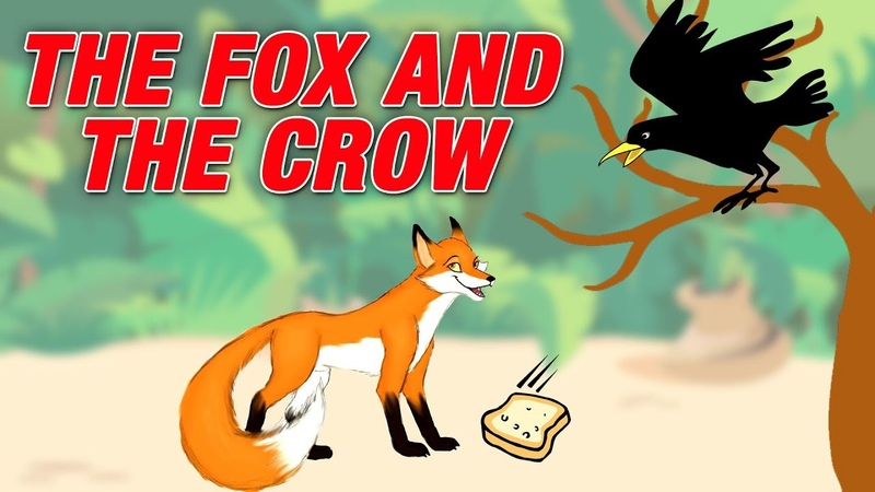 The Fox And The Crow Story For Kids | Simba Tv | Moral Story In English