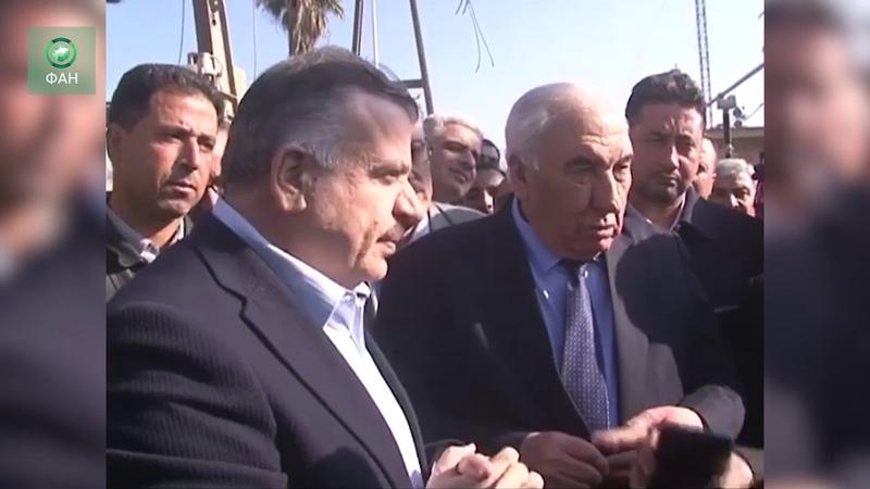 Сирия корреспондент ФАН побывал на открытии двух электроподстанций в Даръа