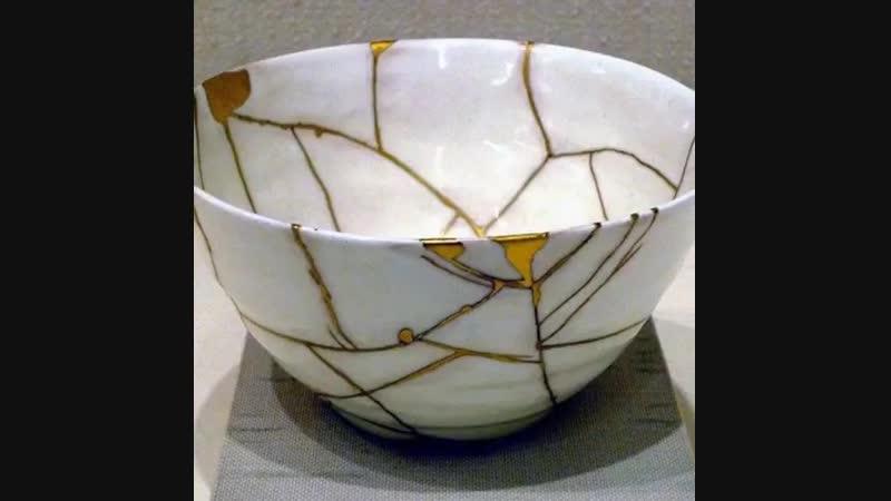 Сногсшибательные факты - Кинцуги — японское искусство разбитой посуды, которое уже оценил весь мир😍😍