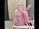 Мой симпатичный рюкзак школы кожи уха кролика с бесплатной доставкой от Aliexpress