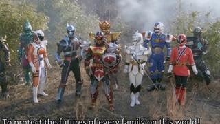 Todos os Power Rangers - Episódio original Japonês (Super sentai)