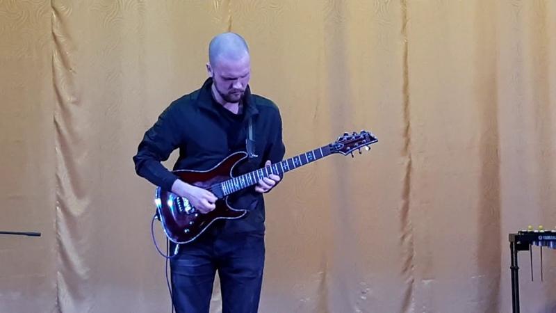 Joe Satriani - Memories (guitar cover by Vladislav Butin)