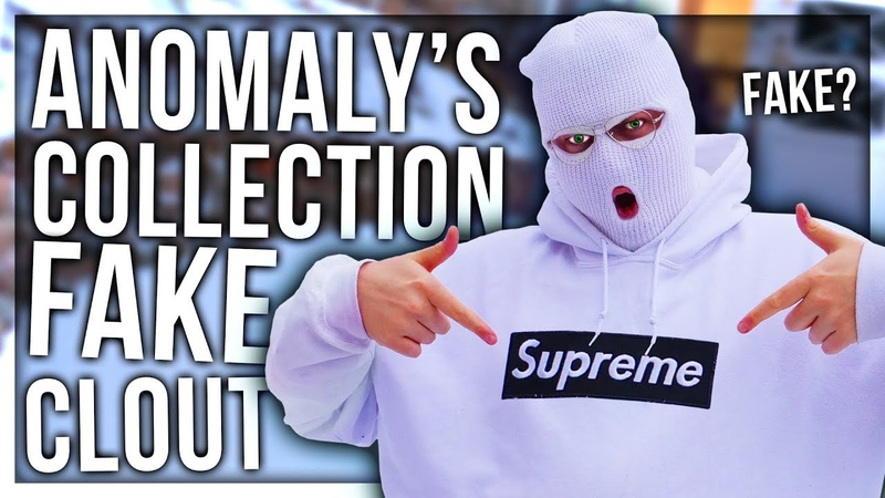 ANOMALYS COLLECTION OF FAKE CLOUT