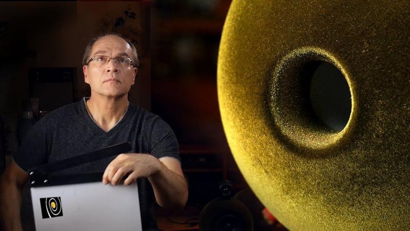 Звучание сфер дифракции и ведра