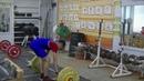 Бессонов Дима, 14 лет, вк 45 Тяга толчковая 43 кг