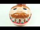 👦 Плей До мистер Зубастик Играем в стоматолога c Плей До Зубастик PlayDoh Dr. D