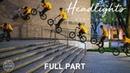 Headlights A Ride BMX Film Full Part feat Broc Raiford
