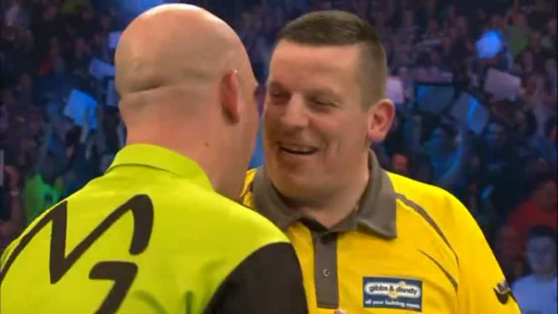 2019 Darts Masters Semi Final van Gerwen vs Chisnall