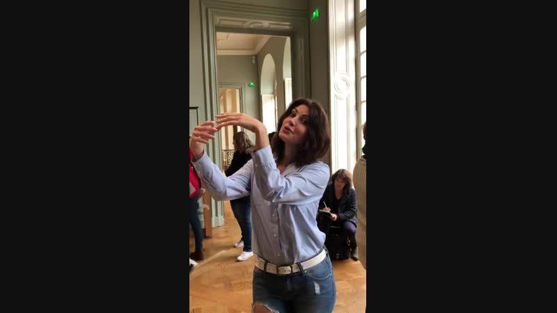Анастасия Макеева в музее Родена