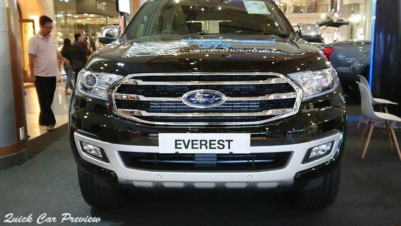 Quick Preview 2019 Ford Everest 2 0 Bi Turbo Titanium 4X4