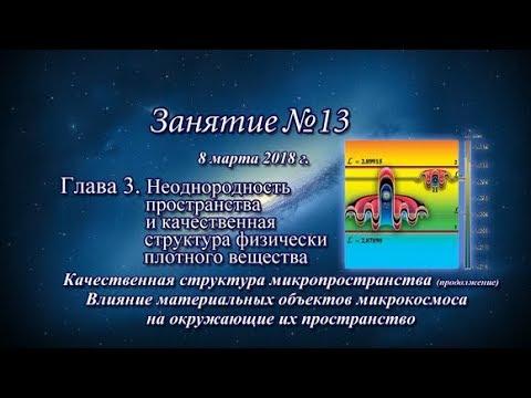 ✾ Константин Майоров «Неоднородная Вселенная» - Курс 4 Занятие 13 (2018.03.08)