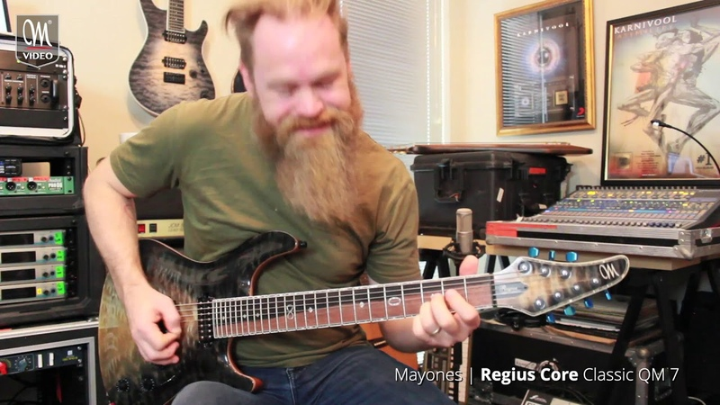 Mark Hosking - Karnivool - New Day - Playthrough - Mayones Regius Core Classic QM 7