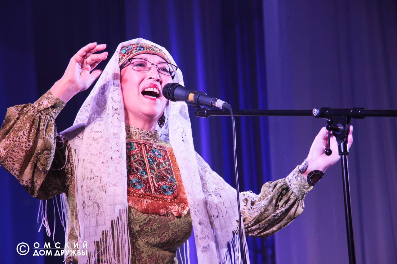 Фагиля Чумарова Татарская песня. Омск