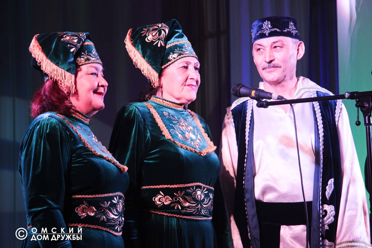 IX Областной конкурс «Татарская песня» Омск