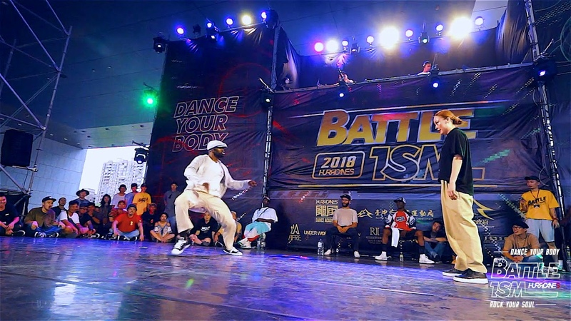 BATTLE ISM Taiwan 2018 Dickson VS EUN G Popping 1on1 TOP32