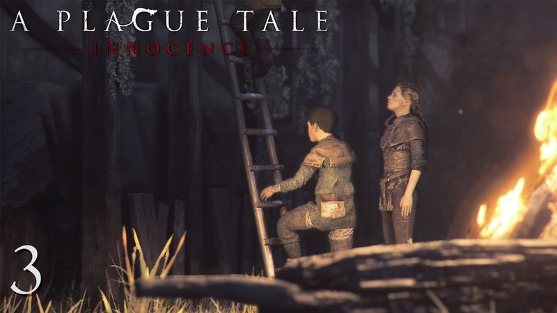 Прохождение A Plague Tale Innocence - В плену 3
