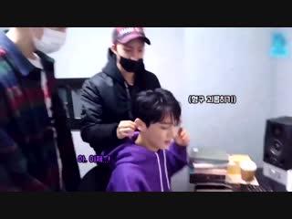 Hui and shinwon teasing kino, someone save him!
