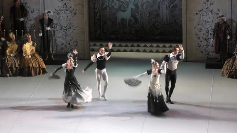 (5) 06.10.2018 Mikhailovsky, Julia Lukianenko debut Swan Lake Act III Odile entrance, spanish dance and adagio
