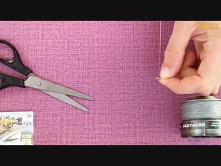 Как привязать два крючка на один поводок без узла. No-Knot
