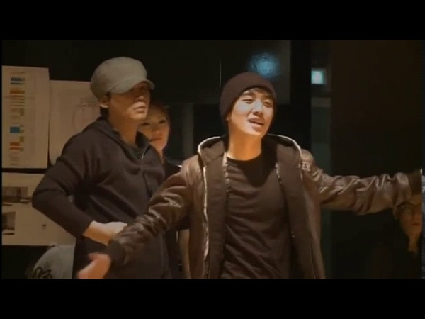 ENG BIGBANG dance practice Lollipop w 2NE1 Making of YG family concert