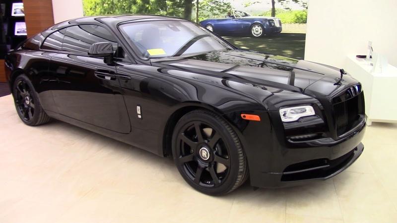 Rolls Royce Wraith Murdered Out Black Quick Walk Around