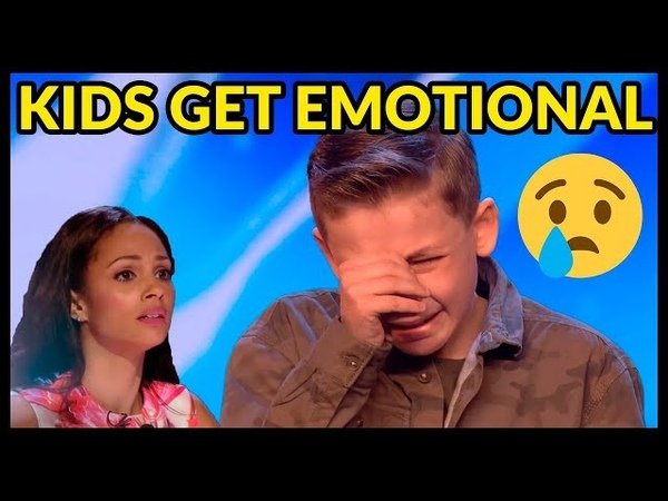 Top 5 WHEN CHILDREN START TO CRY* and Get EMOTIONAL on BRITAIN'S GOT TALENT!