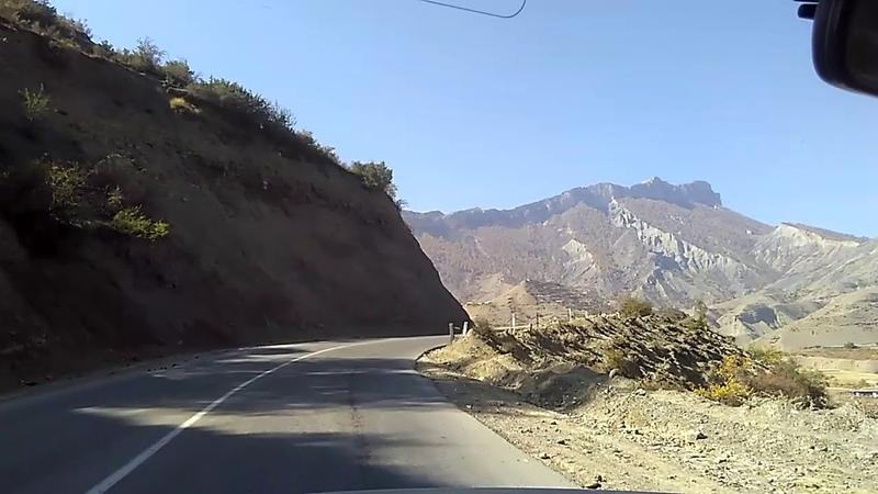 1 Дорога в Гуниб осенью, октябрь 2018 | село Нижний Кегер | туризм в Дагестане