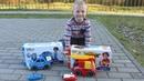 Пожарная и Полицейская машины Tooko на ИК - Сеня испытывает игрушечные машинки Silverlit для детей