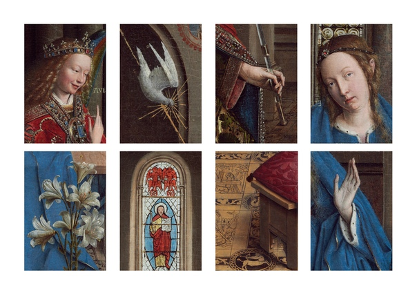 Ван Эйк, Ян «The Annunciation» (1434 - 1436) Dutch and Flemish Renaissance paintingNational Gallery of Art, Washington DC