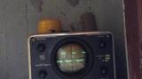 Сигнал генератора импульсов на осциллографе С1-5 (си-1)