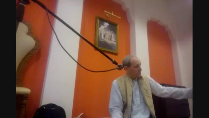 Гаура Кришна прабху- лекция на День ухода Шрилы Прабхупады