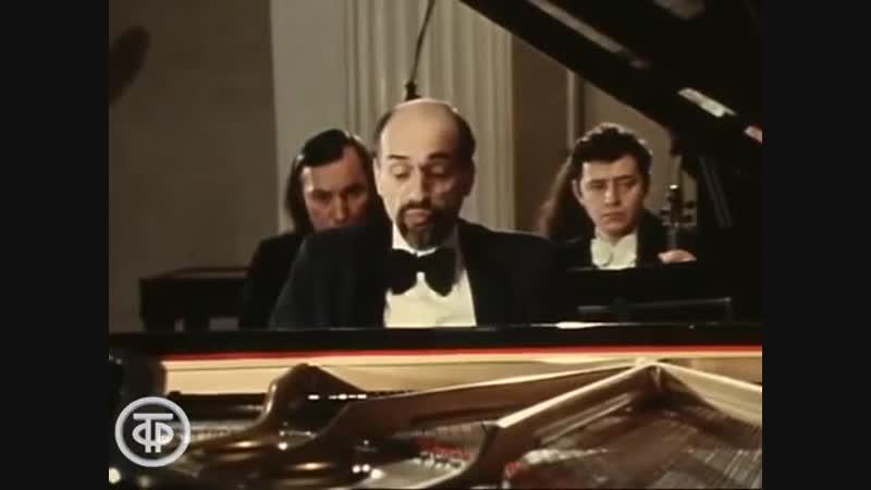 Декабрьские вечера 1983 года. Элисо Вирсаладзе и Дмитрий Башкиров играют Моцарта