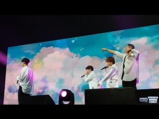FANCAM : BTOB - Yeah @ Concert in Jakarta
