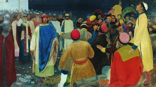 ДА ЧЁ ТЫ ЗНАЕШЬ или О ПРЕВРАТНОСТЯХ СУДЬБЫ «Волхв объявился при Глебе в Новгороде; говорил людям, представляя себя богом, и многих обманул, чуть ли не весь город, говорил ведь: «Все знаю», хуля