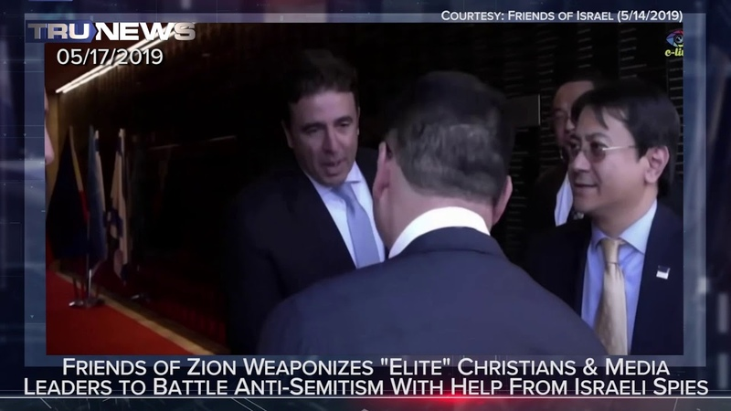 Are the Friends of Zion Fighting Anti Semitism by using Israeli Spies?