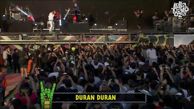 Duran Duran Wild Boys Lollapalooza Argentina 2017