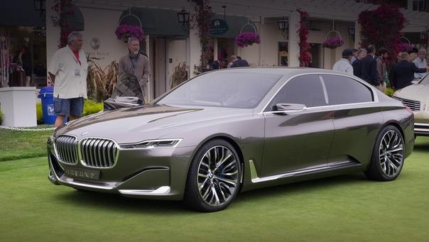MW признала девятую серию ненужной Прообразом «девятки» с 2014 года считается концепт BMW Vision Future Luxury (на фото), показанный на Пекинском мотор-шоу. Автор дизайна Карим Хабиб сейчас