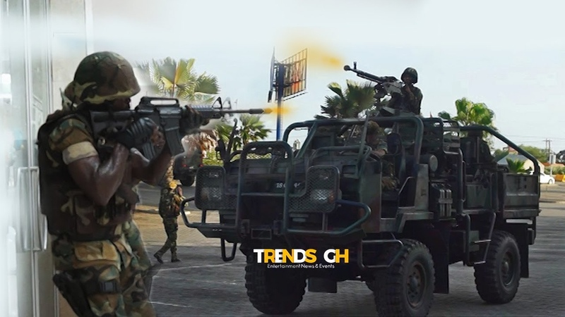Ghana Armed Forces: 64 Infantry Regiment Counter Terrorism Attack Training