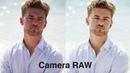 Простая коррекция сложного цвета лица в Camera Raw Lightroom